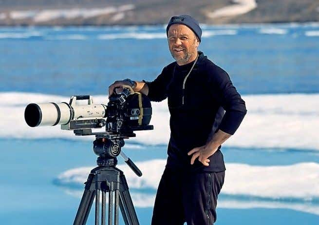 Check in On my travels Wildlife and documentary cameraman Doug Allan shares his polar pursuits with