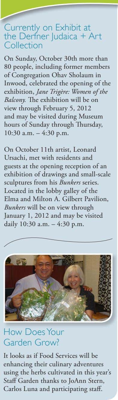 Currently on Exhibit at the Derfner Judaica + Art Collection On Sunday, October 30th more