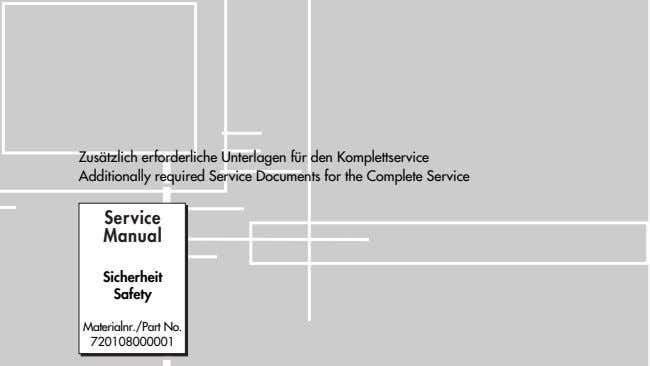 Zusätzlich erforderliche Unterlagen für Additionally required Service Documents for the Complete Service