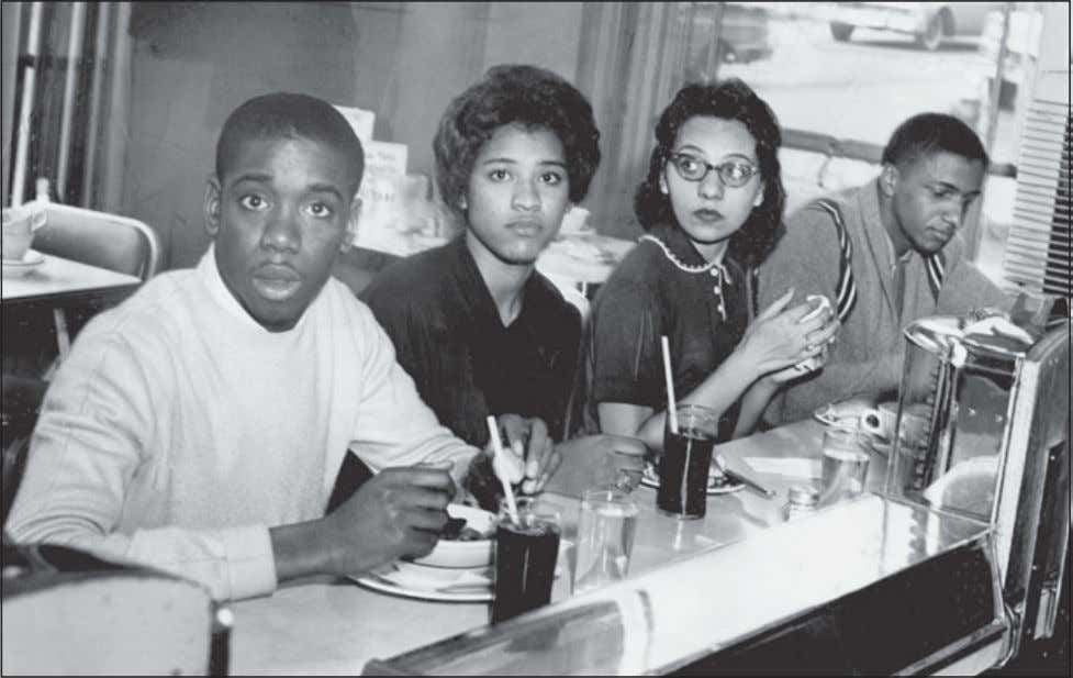 86 Freedom Riders Following a series of sit-ins, four student activists become the first blacks to