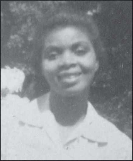 12 Freedom Riders Irene Morgan, ca. 1943. (Courtesy of Sherwood Morgan) As Irene Morgan knew all