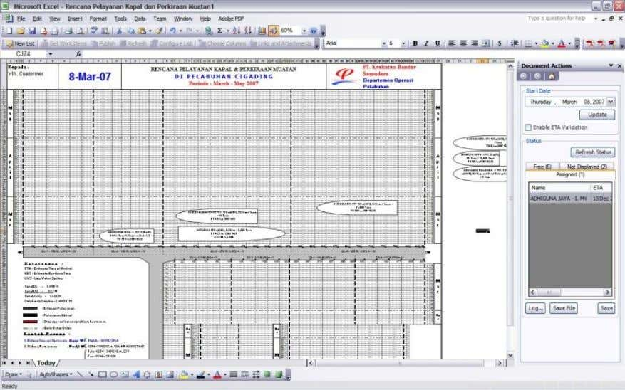 COMPANY PROFILE A Maritime Port Scheduling application 28