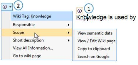 in the wiki, the results can be used in the Word document. Figure 2: Microsoft Word
