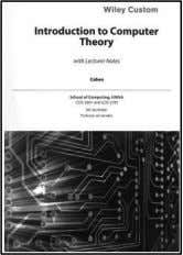 to Computer Theory, 2nd edition. John Wiley & Sons. You may purchase the 2014 or 2016