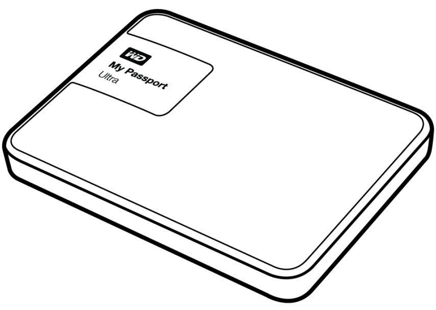 My Passport ™ Ultra Hard disk portatile Manuale per l'utente My Passport Ultra – Manuale per