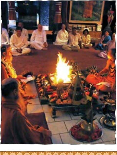 8. Attend Kadavul Homa Sadhana Sadhana Practice Participate in the homa worship of God Siva for