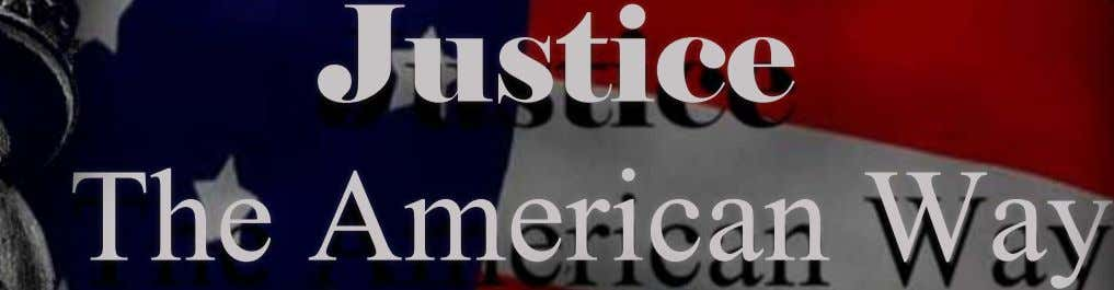 Justice TheAmericanWay