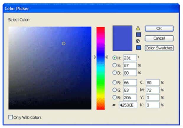 Changing Fill Color Let's start changing the fill color for the rectangle. Double click the Fill