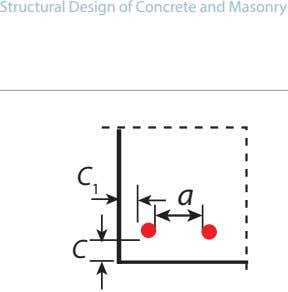 Structural Design of Concrete and Masonry C 1 a C