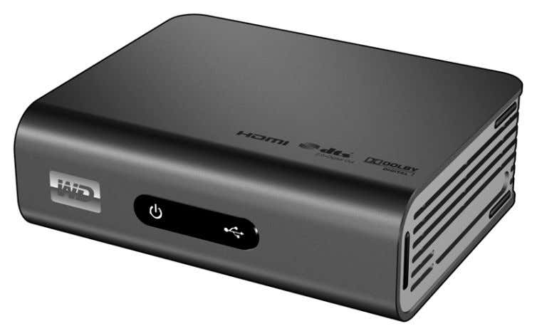 WD TV ™ Live HD Media Player