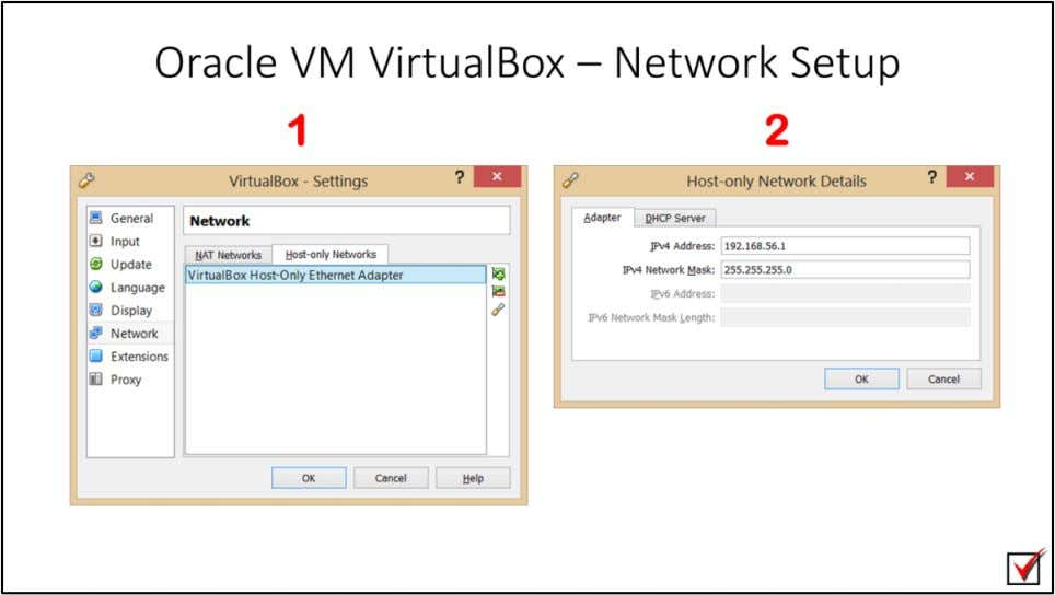 "Oracle VM VirtualBox – Network Setup 1. Go to ""File"" > ""Preferences"" > ""network"" >"