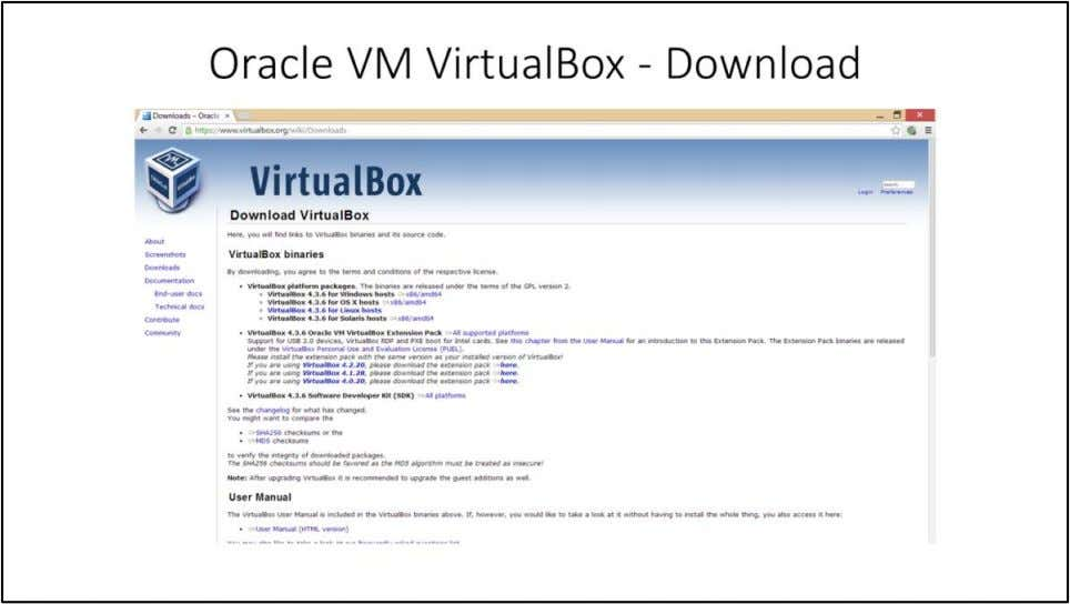 Oracle VM VirtualBox – Download VirtualBox is a powerful x86 and AMD64/Intel64 virtualization product for