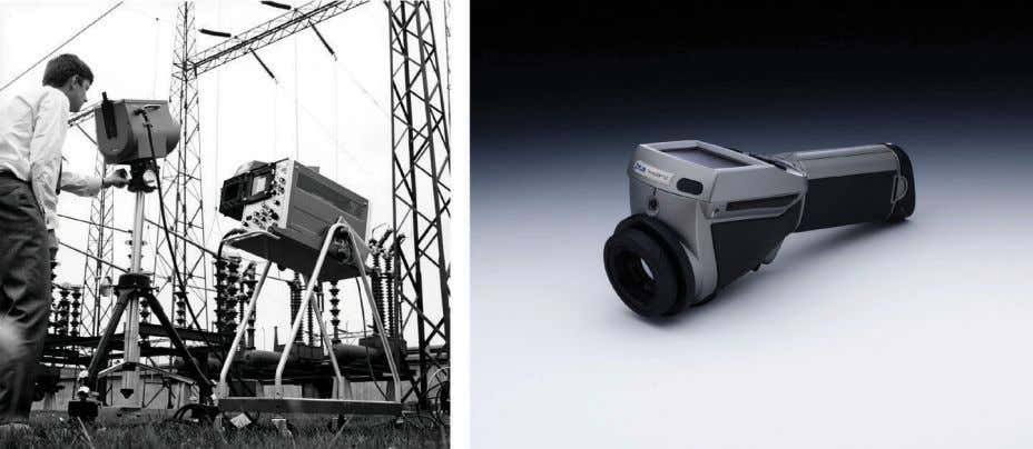 1.3 – About FLIR Systems 10401603;1 1 Figure 1.2 LEFT: FLIR Systems' Thermovision ® Model 661.