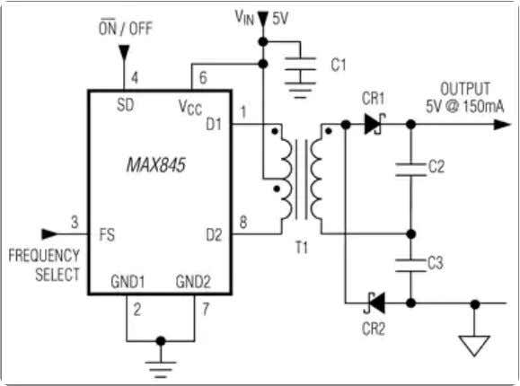 Isolated Transformer Driver for PCMCIA Applications - Maxim Enlarge+ Key Features Transformer Driver for Ultra-Thin