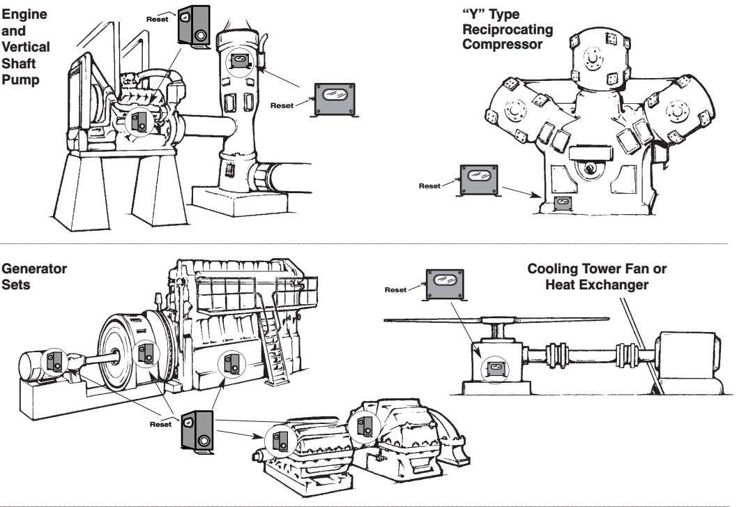 "Engine ""Y"" Type Reset and Reciprocating Vertical Compressor Shaft Pump Reset Reset Generator Sets Cooling"