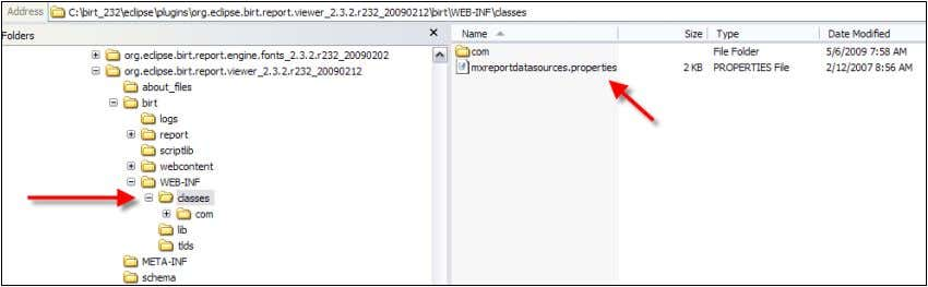 same source and destination folders from steps 2A and 2B. 2D. Open the copied mxdatasources.properties file,