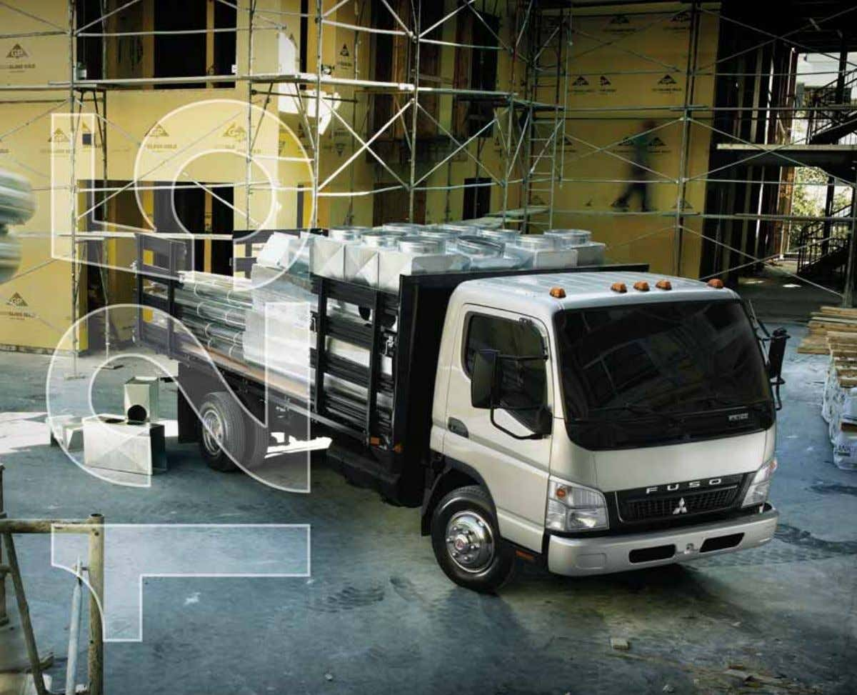 MITSUBISHI FUSO FE 125 BUILDING YOUR REPUTATION FOR DEPENDABILITY.