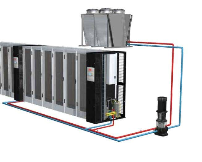 GES system with Indirect Free Cooling The GES system is a hybrid system com- bining