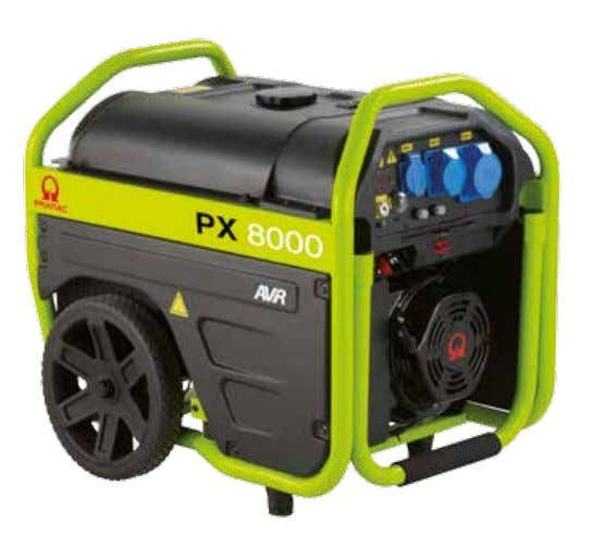functionality, being compact, efficient and reliable. PETROL PROPERTIES ADVANTAGES l Ready to use; no tools required.