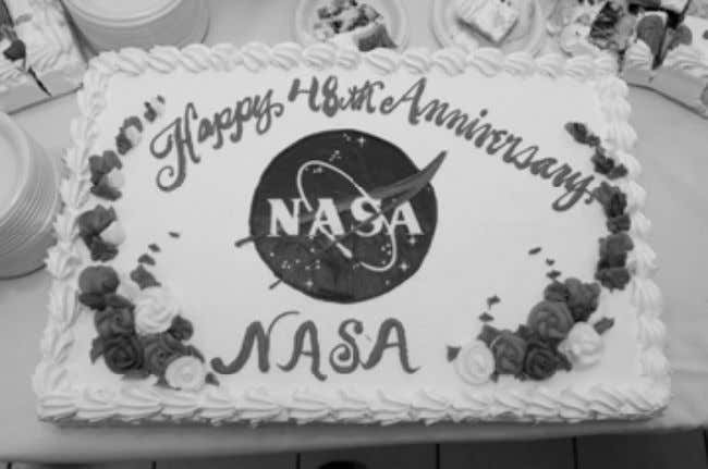 Ames celebrates NASA's birthday NASA photo by Dominic Hart On Oct. 1, 1958, the National Advisory