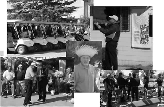 Fourth annual Hispanic Heritage Golf Tournament held The Hispanic Advisory Committee for Em- ployees (HACE) celebrated