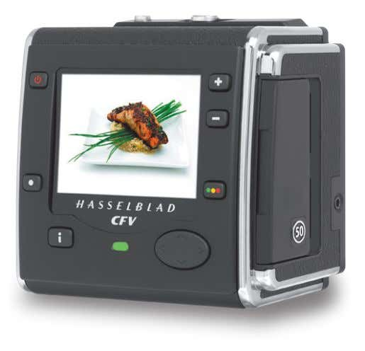 in conjunction with preferred traditional equipment. • Finest digital integration for the classic Hasselblad V