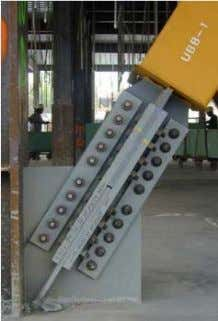  Bolted Connection It is Preferred by many erectors Advantages: • Oversized (OVS) holes allow for