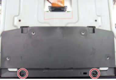 5 Remove the screws of Cover Bottom. 6001-002621