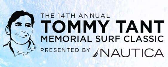 DEAR BUSINESS LEADER, SPONSORSHIP GUIDE 2013 We invite you to sponsor the Tommy Tant Memorial