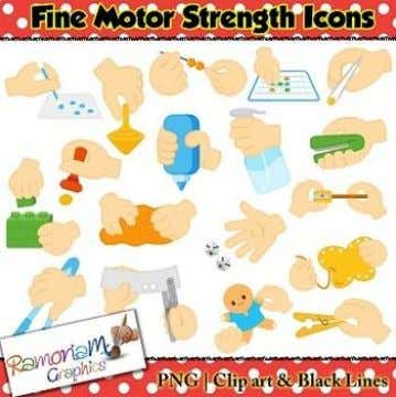 – Fine motor skills are movements made from the hands, wrists, and fingers – Ex. Writing,