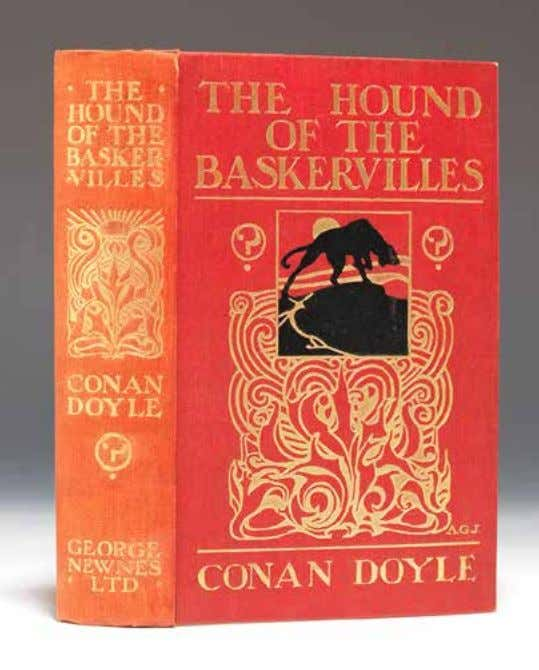 "L iterature | D ecember 2013 42 arthur conan doyle 41. gilt-stamped red cloth. ""Not Such"
