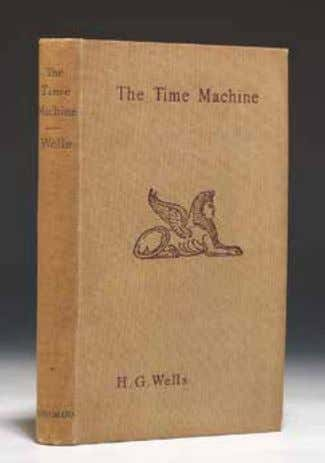 "Most Important Foundation… Of The Science Fiction Genre"" 49. WELLS, H.G. The Time Machine. London, 1895."