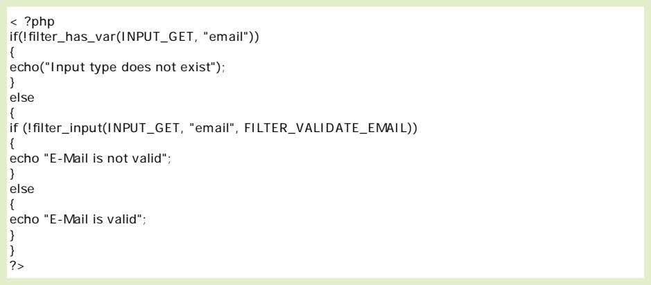 "the input variable ""email"" is sent to the PHP page: Example Explained The example above has"