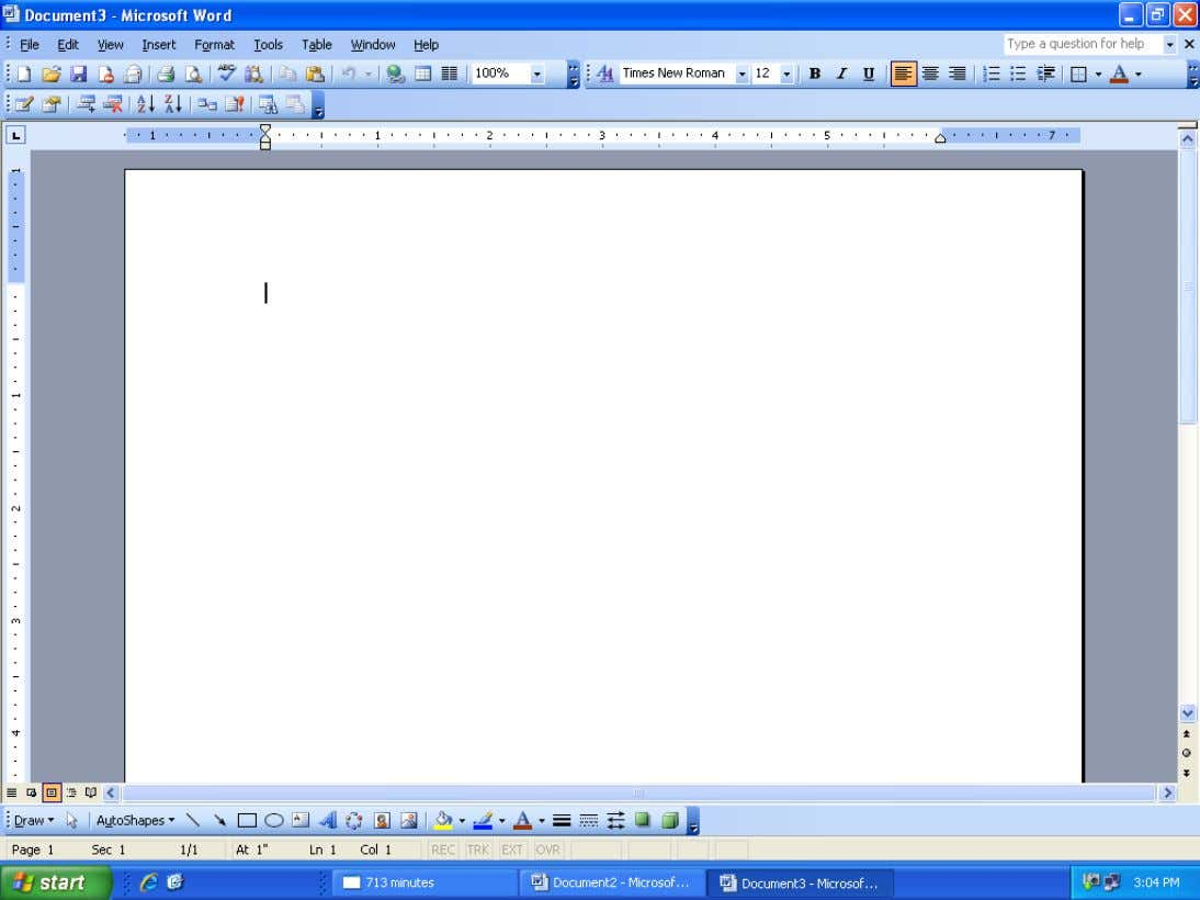 How to Create a Resume Using Microsoft Word cont… STEP 4: This is the new window