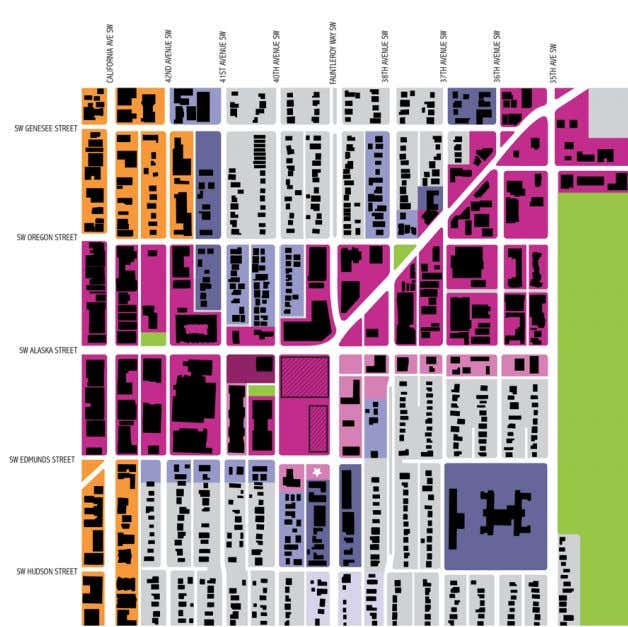 © DAVID FOSTER ARCHITECTS 2. CONTEXT ANALYSIS VICINITY MAP: ZONING ZONING MAP LEGEND SF5000 LR1 LR2