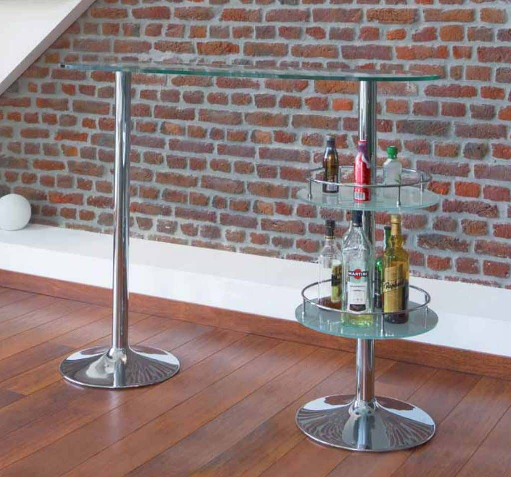 BAR & STOOLS BT00010cL mATeRiAL ∙ Upper sheet in clear glass: 1 cm thick ∙ Under