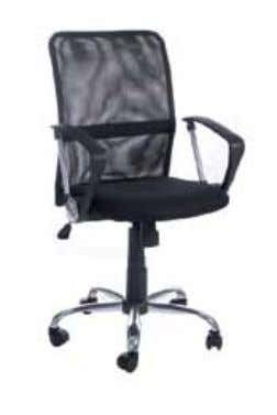 Oc00160BL mATeRiAL ∙ Comfortable mesh seat and backrest ∙ Armrests in PU (strong plastic material) ∙