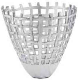 aluminum dimensions: 54 x 54 x 15 cm colour: aluminum # DK00240AL Fruit basket in polished