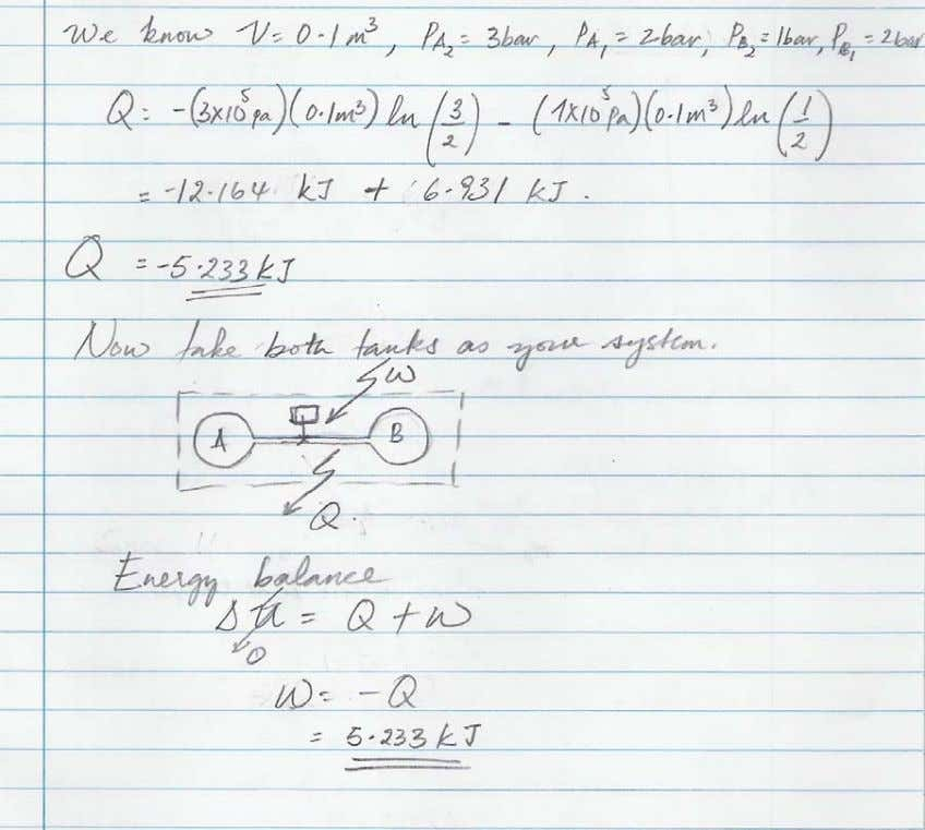 Problem 2: While relaxing near a large tank of n itrogen gas (A) at 687kPa