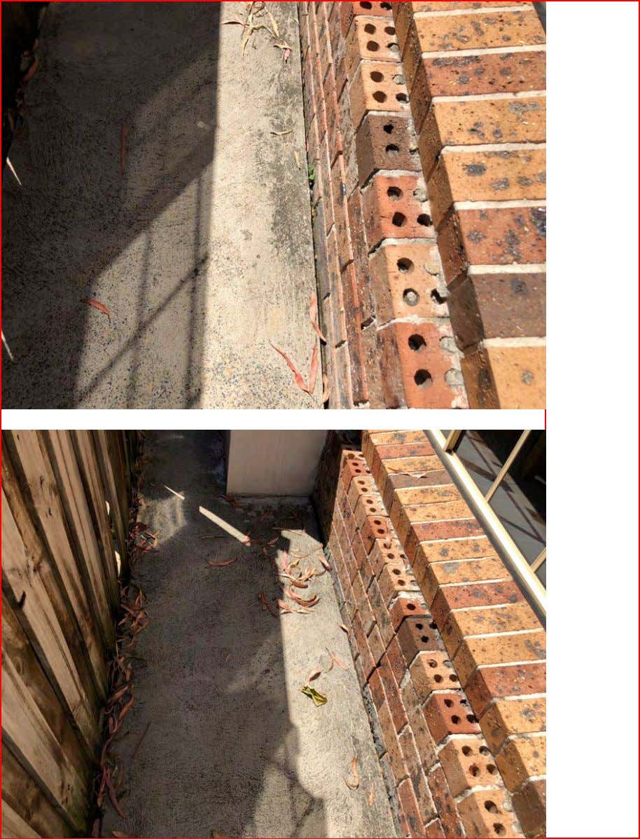 Childs Property Inspections Pre - Condition Building Report Page 14
