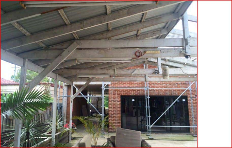 Childs Property Inspections Pre - Condition Building Report 13 December 2017 – no change. Page 43