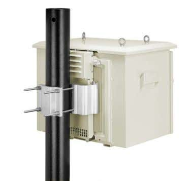 as with IP-55 certification for water and dust proofing. The FibeAir Outdoor Enclosure is a light