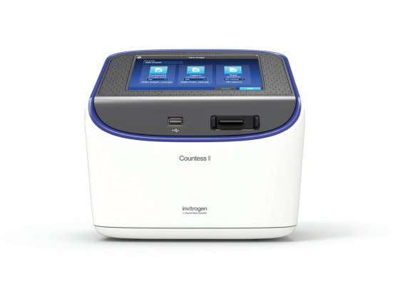 that enables faster counting and more accurate results. Find out more at thermofisher.com/countess For Research Use