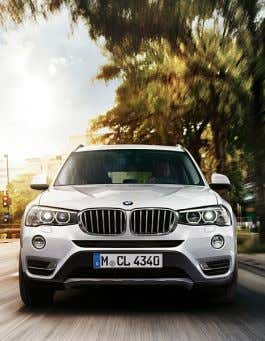 use, depending on your mobile contract, may incur costs. THE BMW X3. VERSATILITY WITHOUT LIMITS. FEATURED