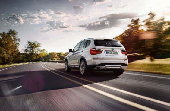 SHORT SPRINT. LONG RANGE. When the BMW X accelerates, it doesn't just inspire its driver,