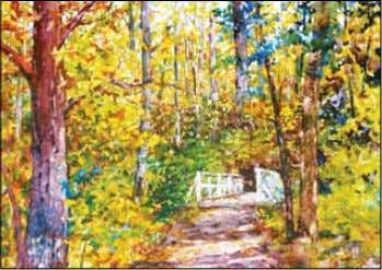 On Our Cover Jacksonville artist Sue Bennett is a professional oil and watercolor artist and