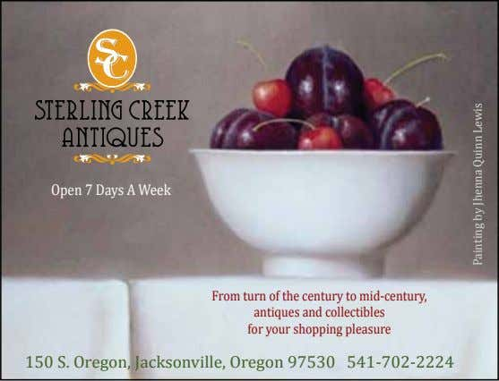 Open 7 Days A Week From turn of the century to mid-century, antiques and collectibles