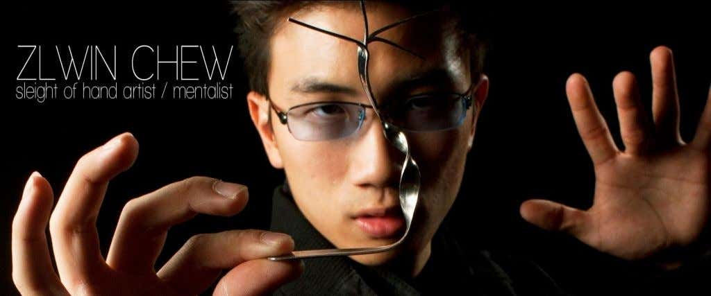 Zlwin Chew is a well known practitioner of the art magic and mentalism. Since his