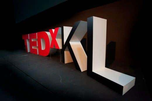 Zlwin was the first magician to be a TED speaker at TEDxKL which was held