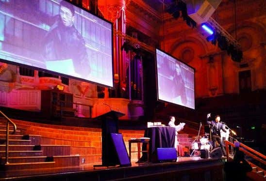 Lady Gaga performed at one of Sydney's most iconic place – the Sydney Town Hall,